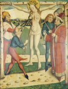 The Martyrdom Of Saint Catherine With The Donor Wumbart Rural Dean, 1473 by Christie's Images
