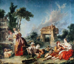 Fountain Of Love, 1748 by Francois Boucher
