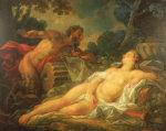 Jupiter And Antiope by Noel Nicolas Coypel