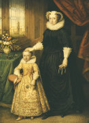 Mary, Queen Of Scots (1542-1587) by Bernhard Lens The Younger