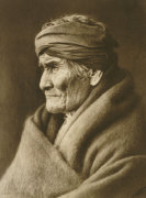 Geronimo, Apache, 1907 by Edward S. Curtis