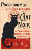 Chat Noir by Theophile-Alexandre Steinlen
