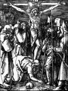 The Crucifixion, From The Small Passion, Circa 1509 by Albrecht Dürer