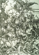 The Four Horsemen Of The Apocalypse, 1498 by Albrecht Dürer