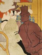 L' Anglais Au Moulin Rouge, 1892 by Henri de Toulouse-Lautrec