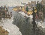 Der Grave Tag, 1933 by Konstantin Ivanovich Gorbatov