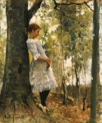 In The Woods by Amelia Jane Murray Lady Oswald
