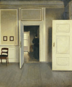 A Woman in an Interior Strandgade 30 1901