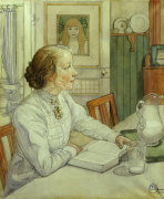 My Eldest Daughter by Carl Larsson