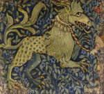 Detail of a Basel Gothic Tapestry. Circa 1430 by Christie's Images