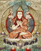 A Small Tibetan Applique Thang.Ka Depicting Tsong.Kha.Pa by Christie's Images