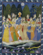 A Pichhavai Of Krishna As Shrinthji by Christie's Images