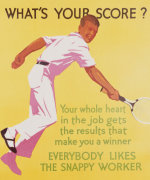 What's Your Score, 1929 by Christie's Images