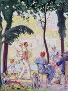 Pougues Les Eaux, 1935 by Christie's Images