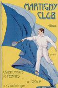 Martigny Club. M. Tremblay, 1912 by Christie's Images