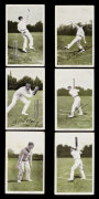 'In The Open' Famous Bowlers, Batsmen, Fielders Series by Christie's Images