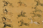 A Plains Pictographic Painting, Native American by Christie's Images