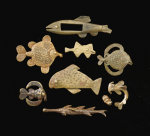 Akan Brass Goldweights by Christie's Images
