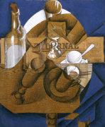 Trasse Verres Et Bouteille (Le Journal) 1914