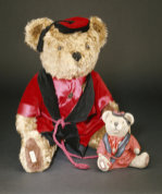 Teddy Bears wearing Smoking Jackets by Christie's Images