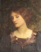 Contemplation, 1897 by Sir Frank Dicksee