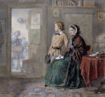 The New Boy, 1860 by Frederick Walker