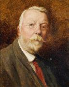 A Self Portrait, 1908 by Robert Gallon