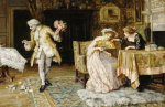 A Clumsy Suitor by Francis Sydney Muschamp