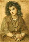 Calliope Coronio, 1869 by Dante Gabriel Rossetti
