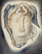 The Head Of Medusa, 1884 by Simeon Solomon