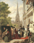 For Better, For Worse, 1881 by William Powell Frith