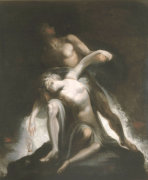 The Vision Of The Deluge by Henry Fuseli