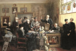 The Estate Auction, 1903 by Carl Johann Spielter