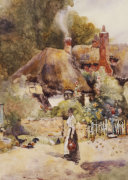 Old Cottage At Sutton Courtney, Berkshire by David Woodlock