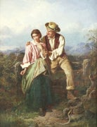 Rustic Courtship by William Henry Midwood