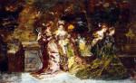 Fete Galante by Adolphe Joseph Thomas Monticelli