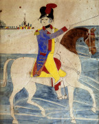 A Mounted Soldier by Christie's Images