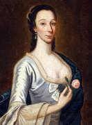 Portrait Of A Lady by American School