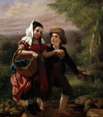 The Picnic by John George Brown
