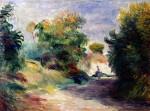 Landscape Near Cagnes by Pierre Auguste Renoir