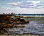 The Coast In Brittany by Maxime Emile Louis Maufra