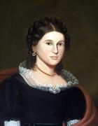Portrait Of A Woman by Zedekiah Belknap