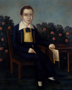 Portrait Of A Young Boy by Joshua Johnson