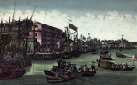 View Of New York by Balthazar Frederic Leizelt