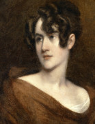 Portrait Of Elizabeth Ball Hughes by John Trumbull