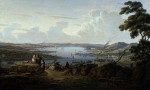 View Of Dunbarton And The River Clyde by Robert Salmon
