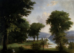 A Day On The Hudson by George Henry Durrie