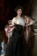 Portrait Of Lady Helen Vincent, Viscountess D'Abernon by John Singer Sargent