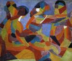 Four Figures by Arthur Bown Davies