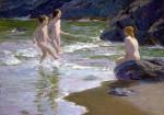 Young Bathers by Edward Henry Potthast